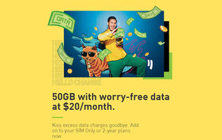 #HelloChange: StarHub now offers an extra 50GB for $20 a month