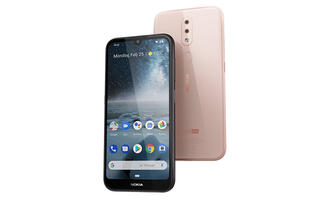 The affordable Nokia 4.2 and 3.2 have big screens, run Android Pie, and support face unlock