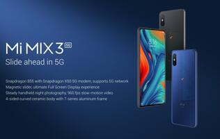 Xiaomi unveils a 5G variant of the Mi Mix 3