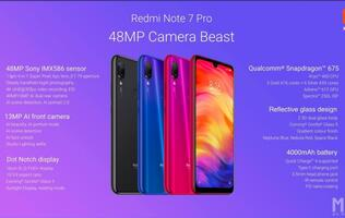 The Redmi Note 7 Pro has 48MP rear camera and 128GB storage for less than S$400