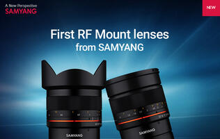 Samyang becomes the first to release third-party Canon RF lenses