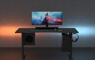 The Omnidesk Zero is a new and more affordable electric desk for gamers