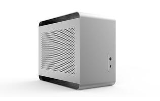 The Dreamcore Odyssey is a powerful PC housed in a compact, minimalist chassis