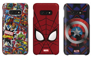 Marvel fans can now dress up their new Samsung Galaxy S10 and Galaxy Buds in Marvel-themed accessories