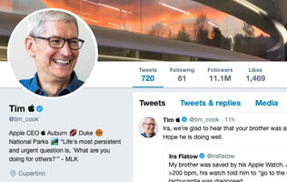 Tim Cook changes name to Tim Apple following Trump's latest gaffe
