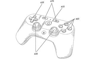 Google's patent shows what a controller for its game streaming service could look like
