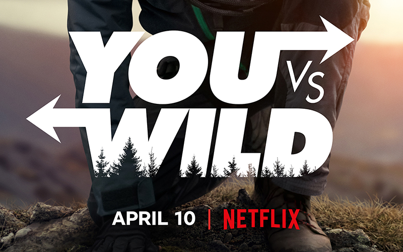 You vs. Wild is Netflix's next interactive series starring Bear Grylls