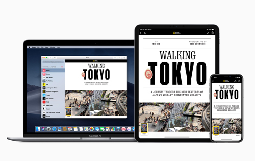Apple News+ features over 300 periodicals to create the best magazine reading experience for iOS devices