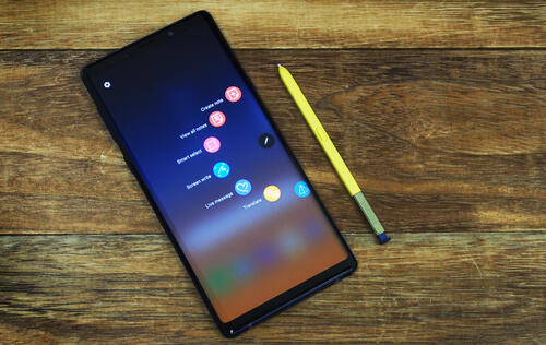 Galaxy Note10 to launch in August with no physical buttons?