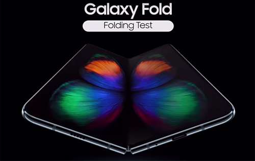 Watch an assemblage of robots stress test Samsung Galaxy Fold smartphones