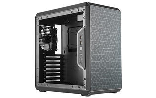 The Cooler Master MasterBox Q500L is a really compact ATX chassis
