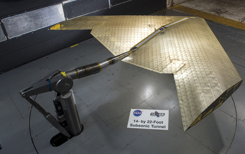 Engineers from NASA and MIT have developed a shape-shifting aircraft wing