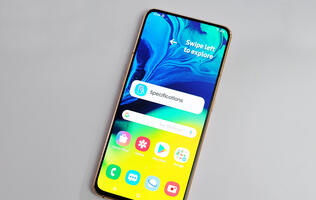 Samsung Galaxy A80 hands-on: Samsung's first pop-up camera, full display smartphone