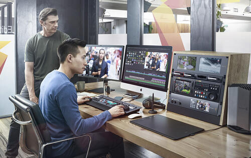 BlackMagic Design's DaVinci Resolve 16 incorporates AI and a new editing interface