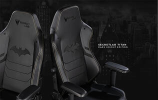 Secretlab made a Batman gaming chair for fans of the Dark Knight