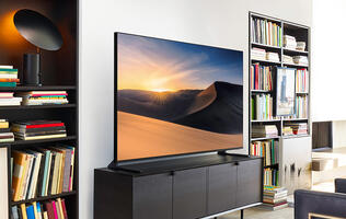 The Q6F is Samsung's most affordable QLED TV this year, and