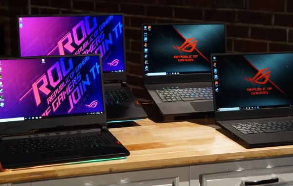 ASUS introduces its ROG Spring 2019 Collection of gaming notebooks