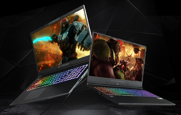 Aftershock introduces new Forge and Apex Lite gaming notebooks featuring Intel and NVIDIA's latest processors