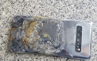 Samsung denies responsibility for user's burnt Galaxy S10 5G