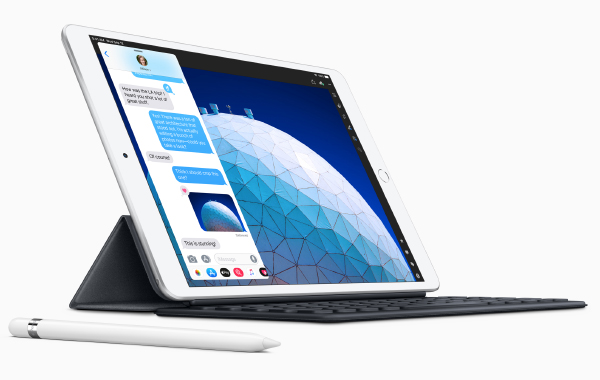 A feature on Apple iPad Air (2019)