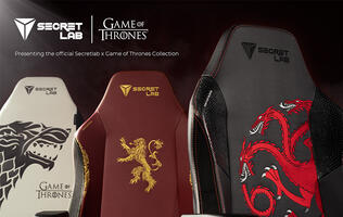 Secretlab's Game of Thrones gaming chairs will let you swear fealty to your favorite house