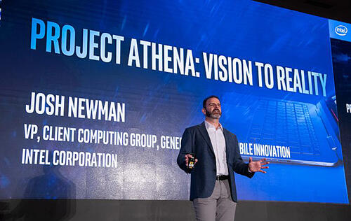 Intel will set up three Project Athena Open Labs to develop next generation laptops for 2020