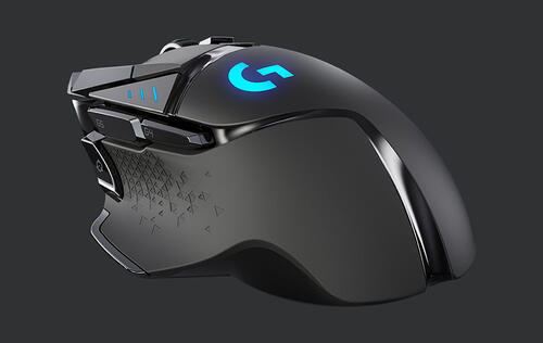 The Logitech G502 is now available with Lightspeed wireless technology