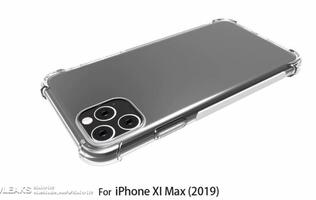 Leaked case for 6.5-inch 2019 iPhone model reveals square camera bump design