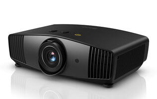 The BenQ CinePrime W5700 4K projector has a 1.6x zoom lens and offers 100% DCI-P3 colors