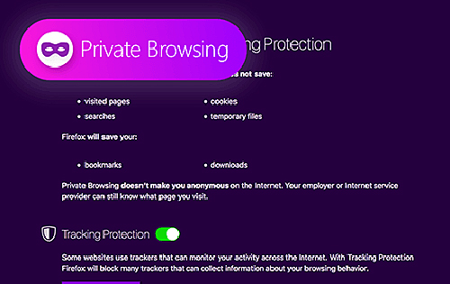 A 'Super Private Browsing' mode may be available on Firefox browser in the near future