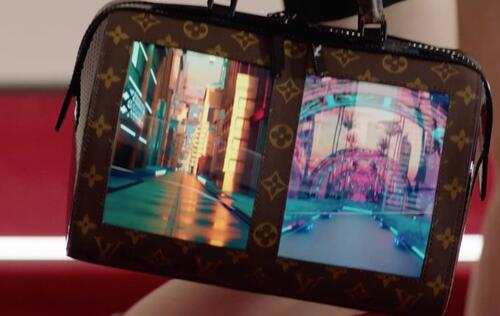Louis Vuitton unveils bag prototypes with flexible OLED screens