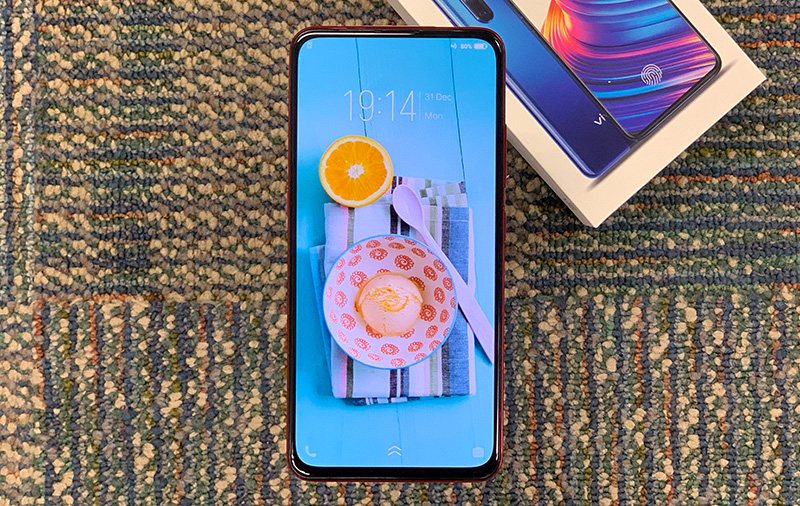 "The Vivo V15 Pro has a notch-less AMOLED display, a 32MP ""elevating"" front camera, and an AI-powered triple-lens rear camera"