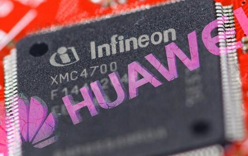 German chipmaker Infineon suspends U.S shipments to Huawei