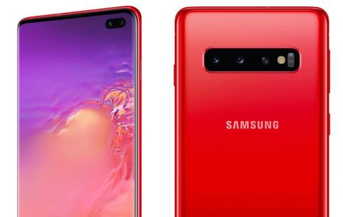 The Galaxy S10 and S10+ may come in a new cardinal red tone