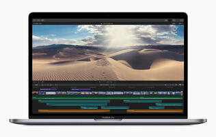 Apple updates the MacBook Pro with new 8-core Intel processors and updated keyboards