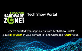 Get PC Show 2019 content and brochure updates through the HardwareZone WhatsApp service!