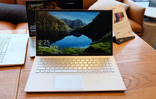 The new ASUS VivoBook S14 and S15 come with a secondary touchscreen display