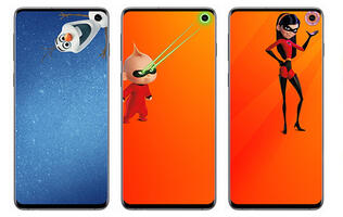 These official Disney wallpapers for the Galaxy S10 are adorable and free to download