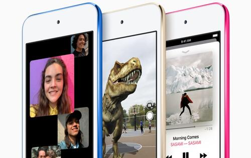 Apple updates the iPod Touch with A10 chip and 256GB storage option