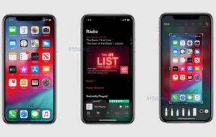 Leaked screenshots show off iOS 13's new Dark Mode