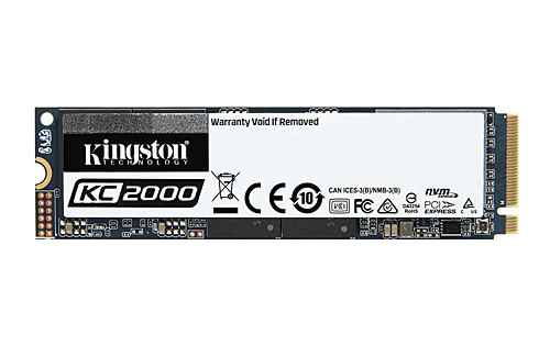 The new Kingston KC2000 NVMe SSD comes with 256-bit AES hardware-based encryption