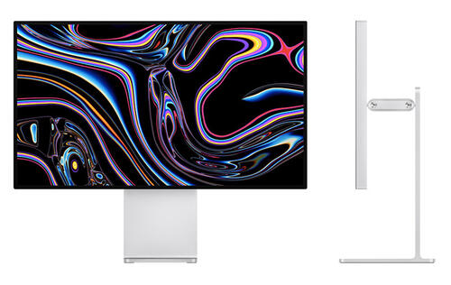 The Apple Pro Display XDR is a 32-inch monitor with 6K resolution and 1,600 nits peak brightness