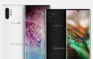 Samsung rumored to unveil the Galaxy Note10 series in early August