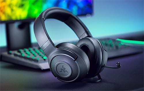 The new Razer Kraken X weighs just 250g, ideal for all-day gaming and listening sessions!
