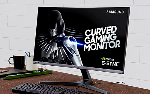 "The 27"" Samsung CRG50 is the company's first 240Hz curved gaming monitor (Updated)"