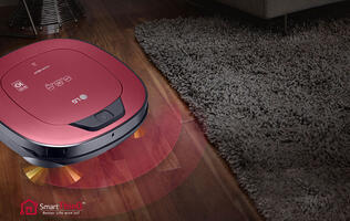LG's Hom-Bot now mops while it vacuums