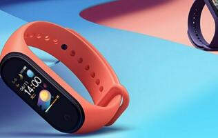 Xiaomi brings color AMOLED display and 20-day battery life to the Mi Band 4