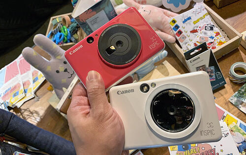 The Canon iNSPiC S is an instant camera and printer hybrid that excels in capturing selfies