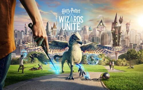 AR game Harry Potter: Wizards Unite is available to download on Android and iOS