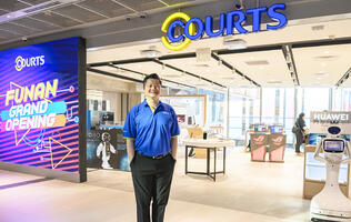 A sneak peek at Courts' first smart home-themed store in Funan